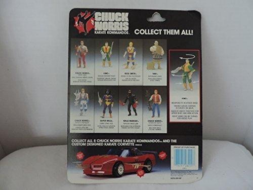 1986 Kenner CHUCK NORRIS Karate Kommandos KIMO Figure by Kenner