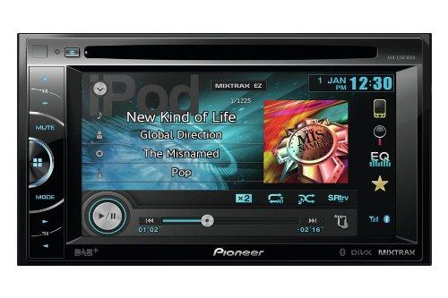 Pioneer AVH-X3600DAB Autoradio 2 DIN AV 6,1 Pollici con DVD, Sintonizzatore DAB, Predisposizione Advanced App Mode (Solo iPhone 4/4S)