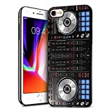 iPhone 7 Case, iPhone 8 Case, Premium TPU Ultra Thin Flexible Shock Absorbent Silicone Rubber Protective Cover for iPhone 7 / iPhone 8 (4.7 inch) - DJ Mixer Deck Controller