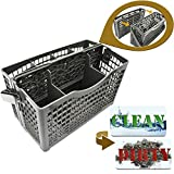 Dishwasher Silverware Basket Universal - Clean Dirty Magnet Sign -...