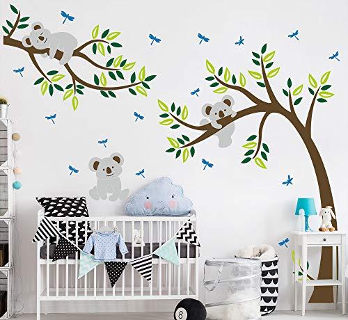 Sayala Koala Arbre Stickers Muraux - Mon-Baby-Dad Koala Branches Stickers/Autocollant Adhésif Mural...