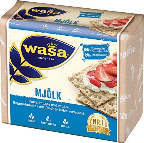Wasa Mjölk Roggen Knäckebrot - 12x 230 g
