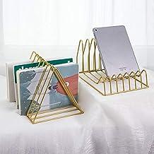 Desktop Storage Rack Shelf File Magazine Bookend Office Rack briefpapier Organizer Holder Opslag Planken (Color : Black)