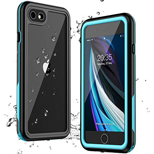 Nineasy iPhone 8 Case,iPhone 7 Case iPhone SE 2020 Case Waterproof, Protective Cover with Built-in Screen Protector, Full Body Heavy Duty Shockproof Case for iPhone 7/8/SE 2020 4.7 inch