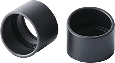KOPPACE 2 Pairs 36mm Inner Diameter Binocular Rubber Eyepiece Eye Guards Cups Shield for 32-36mm Stereo Microscope Eyepieces,Oblique Eye Mask