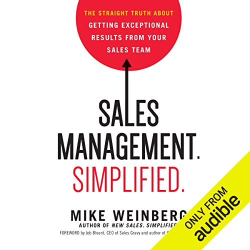 Sales Management. Simplified audiobook cover art