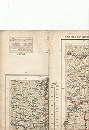 U. S. Army - Italy Road Map - Sheet 7. A. m. s. m592.