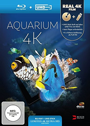 Aquarium 4K (UHD Stick in Real 4K + Blu-ray) - Limited Edition [Blu-ray]