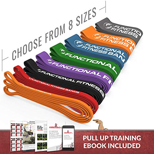 Rubberbanditz Pull Up Assistance Resistance Exercise Bands