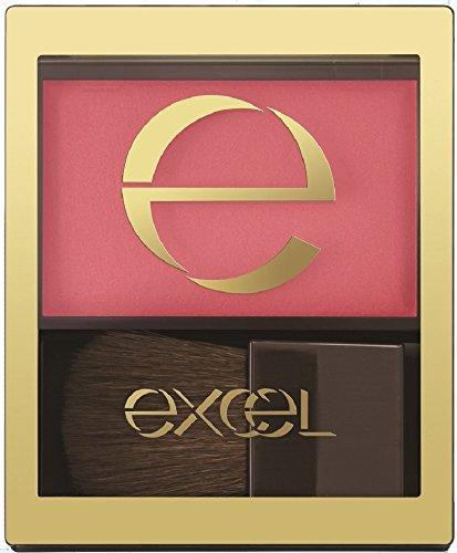 excel(エクセル)エクセルスキニーリッチチークRC03ローズピオニー