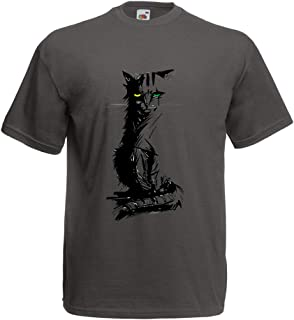 Men's T-Shirt Cute Cat Different Colored Eyes, Cat Lovers Gift