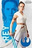 Trends International Star Wars: The Rise Of Skywalker - Rey Wall Poster, 22.375' x 34', Multi