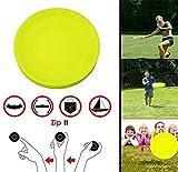 Zip Chip Mini Frisbee Flexible Pocket Spin Suave en Juego de Captura Disco...