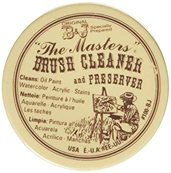 General Pencil Company Inc The Masters Brush Cleaner & Preserver 1 Oz.