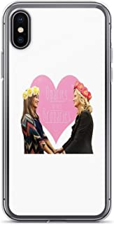 iPhone 7 Plus/iPhone 8 Plus Case Clear Anti-Scratch Ovaries Before Brovaries, Parks and rec Cover Phone Cases for iPhone 7 Plus, iPhone 8 Plus