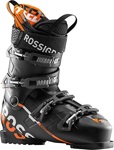 Rossignol Speed 90 Ski Boots Mens Sz 9.5 (27.5) Black/Orange