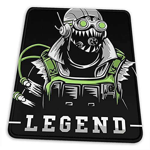 Ap-Ex Leg-Ends -Octane Mouse Pad Oblong Shaped Mouse Mat Desktop Notebook Mouse Mat for Working and Gaming