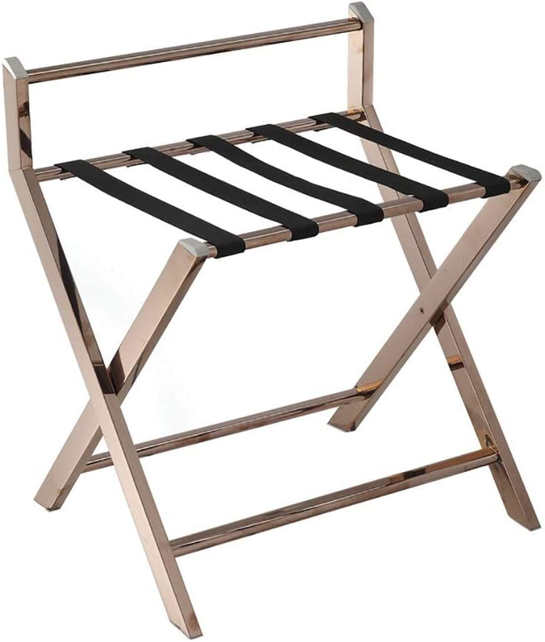 Room Product Luggage Rack Hotel Stainless L Virginia Beach Mall Steel Folding