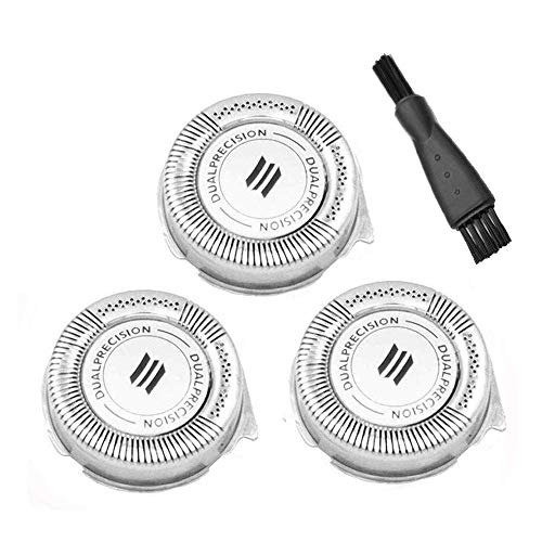 CLCK HQ8 Dual Precision Replacement Heads for Philips Norelco Spectra 8800 Series 7800 7100 7200 Series, PT720 PT724 PT730 AT810 AT830 PowerTouch Electric Shaver