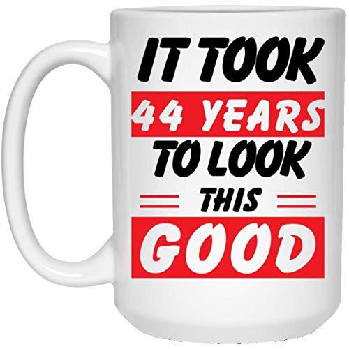N\A Me tomó 44 años lucir Esta Buena Taza de café con Leche