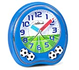 Reloj con Alarma para niños Chico Azul música fútbol - Atlanta