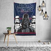 Star Wars-92 タペストリー ポスター かわいい 壁飾り 多機能壁掛け 装飾布 おしゃれ 個性ギフト寝室 新築祝い 結婚祝い プレゼント 壁掛け 約(152cm*102cm)