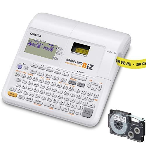 カシオ ラベルライター ネームランドBIZ スタンダードモデル テープ付セット KL-TF7 (3.5mm-24mm幅)