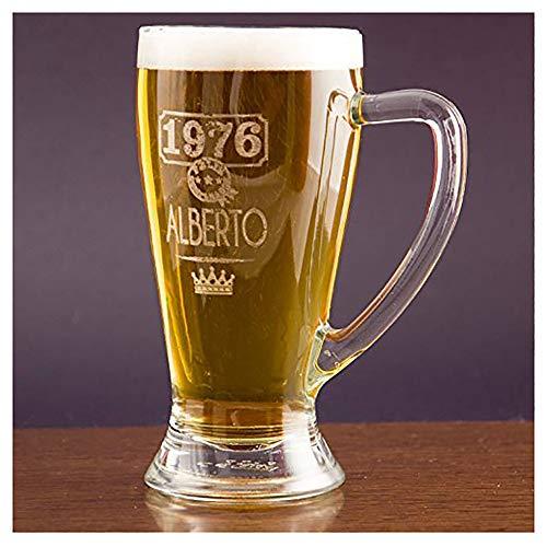 Calledelregalo Regalo Personalizable: Jarra de Cerveza Baviera grabada con el Nombre y...