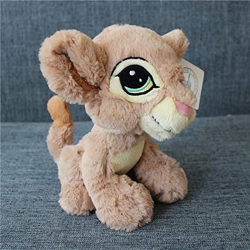 yuanchuang Peluche 1 Pieza 23 Cm = 9 Pulgadas El Rey León Simba Y Nana Niños Peluche De Regalo De Cumpleaños Muñeca Simba Juguetes De Peluche