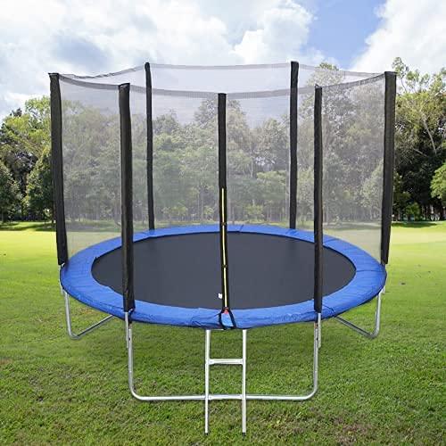 Trampolino Tappeto elastico da Giardino Bambini diametro 185 cm