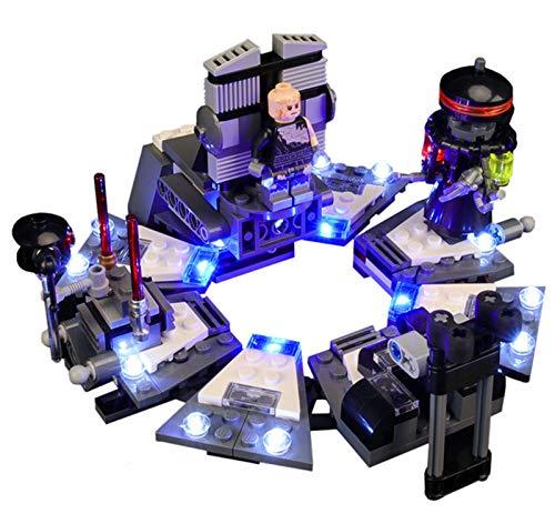 QZPM De Luces USB Compatible con Lego El Nacimiento del Guerrero Negro 75183, Juego De Luces LED para Los Bloques De Construcción De Modelos (No Incluido Modelo)