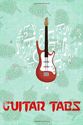 Beginner Guitar Tabs: Dueling Banjos Guitar Tabs Glossy Cover Design Cream Paper Sheet Size 6x9 Inches ~ Large - Bass # Blank 112 Page Standard Print.