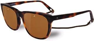 123537f17c Vuarnet VL160800062622 Alain Sunglasses Matte Light Tortoise Brown  Polarized Glass Lens