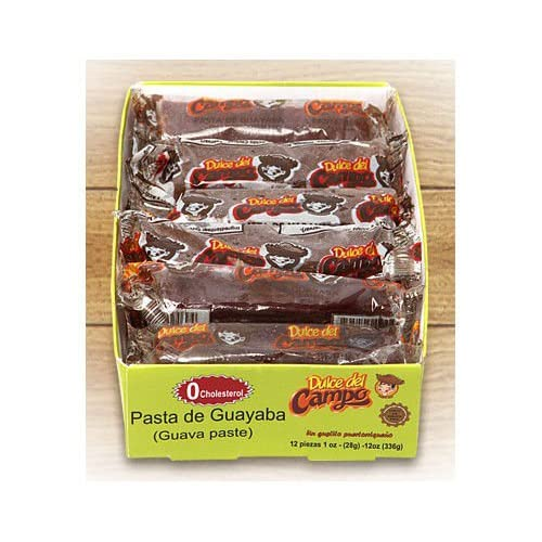 Amazon.com : Guava Candy (Dulce de Guayaba) Made with 100% Real Guava - 1 oz bar (12 Bars per Box) : Grocery & Gourmet Food