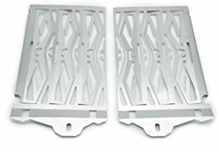 Stainless Steel Radiator Guard for BMW R1200GS/ Adventure 2014-ON Silver