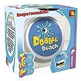 Asmodee Dobble Beach Gioco da Tavolo impermeabile edizione interamente in italiano, Colore, DOBBEAC01IT
