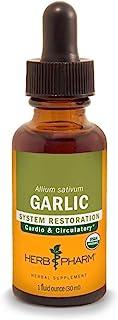 Herb Pharm, Garlic Extract Organic, 1 Fl Oz