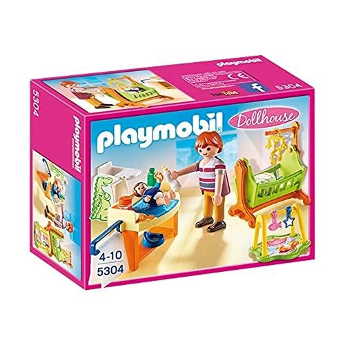 Playmobil- Baby Room with Cradle Gioco, Multicolore, 5304