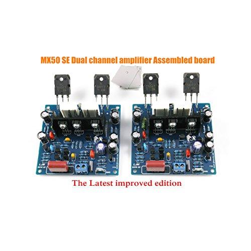 Nobsound® 2pcs/1set MX50 SE Power Amplifier KIT Dual Channel 100W+100W Verstärker-Bausatz for Audiophile HiFi DIY