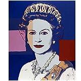 asfrata265 Queens Elizabeths Hd Leinwanddruck Malerei