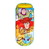 Disney Toy Story 4 <span class='highlight'>Junior</span> Ready<span class='highlight'><span class='highlight'>Bed</span></span>-2 in 1 <span class='highlight'>Kids</span> Sleeping Inflatable air <span class='highlight'><span class='highlight'>Bed</span></span> in a Bag with a Pump, Polyester, <span class='highlight'>Single</span>