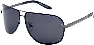 a7dd69770b Matrix Drive - Gafas de sol - para hombre Plateado gris M