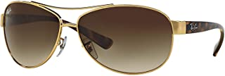 Sunglasses - RB3386 / Frame: Gold Lens: Brown Gradient (63mm)