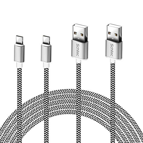 Cable Micro USB, (2Pack-3Meter) Cargador Micro