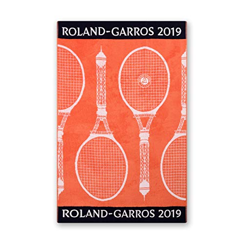 Roland Garros 2019 on Court Lady Tennis Handtuch Sport Handtuch
