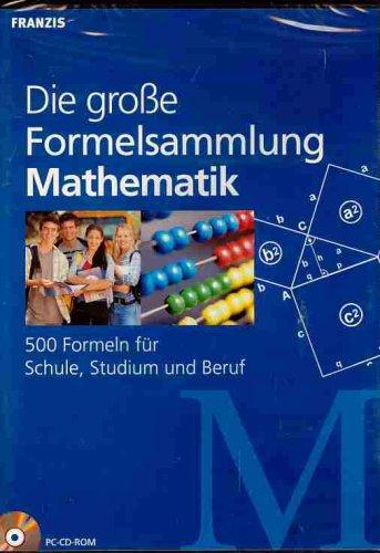 Die große Formelsammlung - Mathematik
