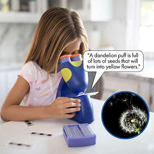 Educational Insights GeoSafari Jr. Talking Microscope Featuring Bindi Irwin: Microscope for Kids, STEM & Science Toy, Interactive Learning, Ages 3+