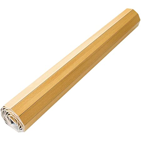 アイリスプラザ ウッドカーペット ナチュラル 幅約350×奥行き約260×厚み0.4cm 6畳、江戸間 WDFK-6-EDO