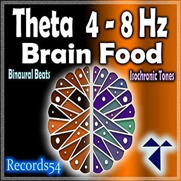 Theta 4 - 8 Hz: Brain Food