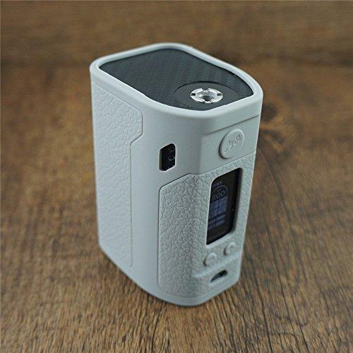 ModShield for Wismec Reuleaux RX300 TC 300W Silicone Case ByJojo Sleeve Skin Wrap Cover (Grey)